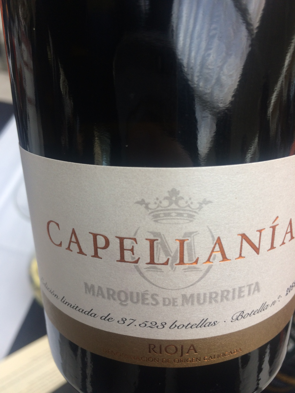Capellanía 2012 - Marques de Murrieta