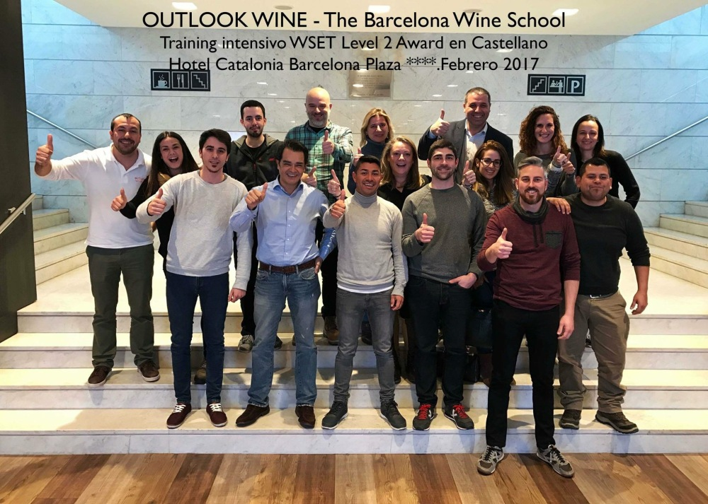 WSET 2 - Outlook Wine Barcelona